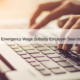 Canada Emergency Wage Subsidy (CEWS) Employer Search